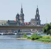 Dresden in Saxony Royalty Free Stock Photography