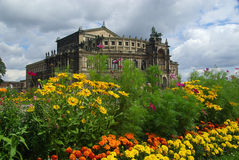 Dresden Semperoper 05 Royalty Free Stock Photo