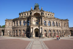 dresden semperoper Obrazy Royalty Free