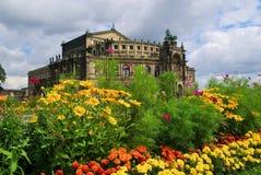 Dresden Semperoper Royalty Free Stock Photos