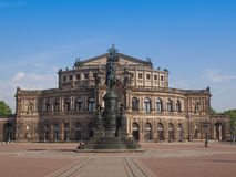 Dresden Semperoper Fotos de archivo