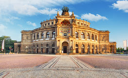 Dresden - Semperoper, Germany Royalty Free Stock Photography