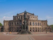 Dresden Semperoper Stock Image