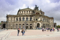 Dresden Semperoper 01 Stock Photography