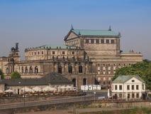 Dresden Semperoper Stock Photo