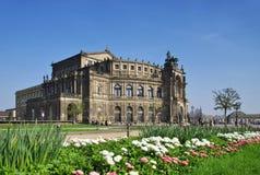 Dresden Semperoper Stock Photography