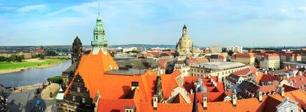 Dresden skyline Royalty Free Stock Photo