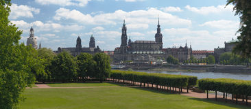 Dresden Skyline Royalty Free Stock Photo