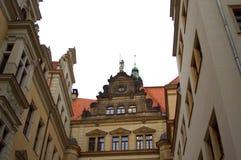 Dresden slottdetaljer Royaltyfria Foton