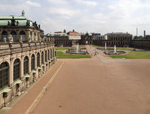 dresden slottzwinger Royaltyfri Bild