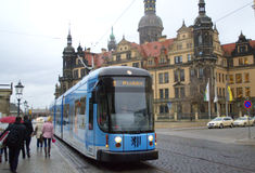 Dresden street Royalty Free Stock Image