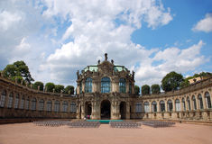 Dresden. Structure Zwinger Stock Photo