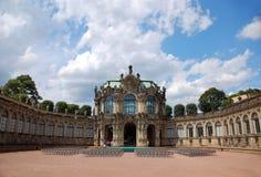 Dresden. Structuur Zwinger Stock Foto