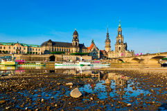 Dresden at sunrise Royalty Free Stock Photography