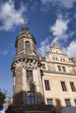 Dresden Tower of Katholische Hofkirche Stock Photography