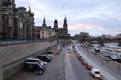 Dresden Tyskland Fotografering för Bildbyråer