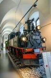 DRESDEN TYSKLAND - MAI 2015: ångalokomotiv 99 535 Hartmann Ch Arkivbilder