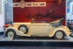 DRESDEN TYSKLAND - MAI 2015: Roehr 8 typ F 1933 i Dresde Arkivfoto