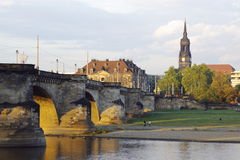 Dresden View Stock Images