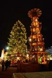 Dresden-Weihnachtsmarkt stockfotos