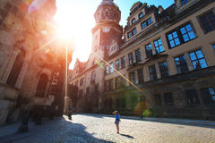 Dresden royalty free stock photos