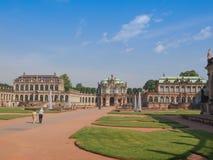 Dresden Zwinger Stockfotos