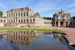 Dresden Zwinger Lizenzfreies Stockbild