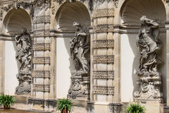 Dresden Zwinger 04 Imágenes de archivo libres de regalías