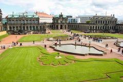 Dresden Zwinger 08 Stockbilder