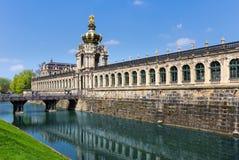 Dresden Zwinger Royalty-vrije Stock Afbeeldingen