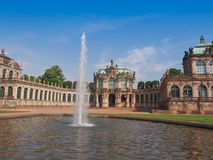 Dresden Zwinger Royalty Free Stock Photo