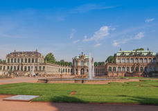 Dresden Zwinger Royalty Free Stock Image