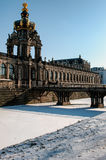 Dresden Zwinger entrance Stock Image