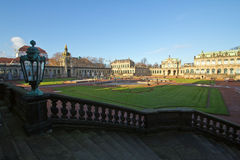 Dresden, Zwinger Royalty Free Stock Photos