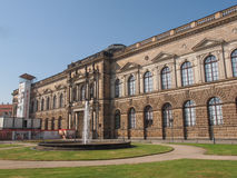 Dresden Zwinger Stock Photography