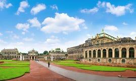Dresden Zwinger museum Royaltyfri Foto