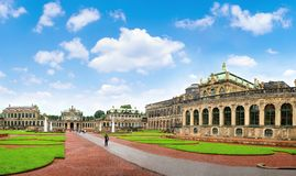 Dresden, Zwinger museum Royalty Free Stock Photo