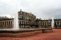 Dresden. Zwinger Palace. Major german landmark Royalty Free Stock Images