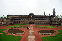 Dresden. Zwinger Palace Stock Photo