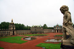 Dresden. Zwinger Palace. Major german landmark Stock Photography