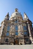 Dresdens rebuilt Frauenkirche Stock Images