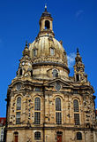 Dresdner Frauenkirche. The Dresden Dome  (Church of Our Lady Stock Photo