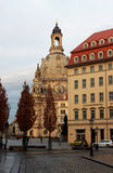 Dresdner Frauenkirche (Church of Our Lady) Dresden Royalty Free Stock Images
