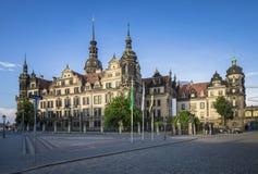 Dresdner Residenzschloss (Dresden Castle), Germany Stock Image