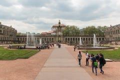 Dresdner Zwinger宫殿 图库摄影
