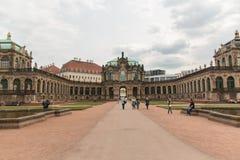 Dresdner Zwinger宫殿 库存图片
