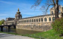 Dresdner Zwinger в Дрездене Стоковая Фотография