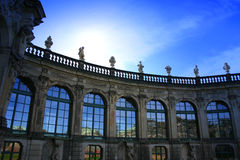 Dresdner Zwinger 1 Royalty Free Stock Images