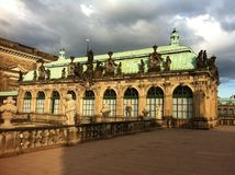 Dresdner Zwinger. An amazing palace in Dresden (eastern Germany), built in Rococo style Stock Photography