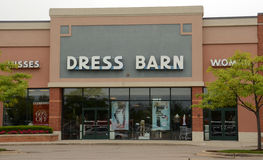 Dress Barn store Royalty Free Stock Images